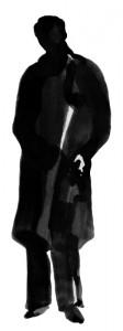 Alain Borne silhouette